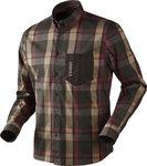1401106Härkila Amlet overhemd / Burgundy-brown check