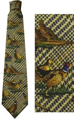 Das (Zijde) Grote fazanten groen