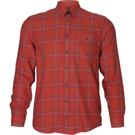 Seeland Range overhemd Ketchup check