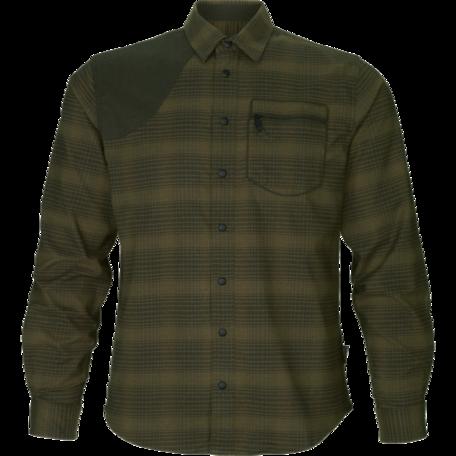 Seeland Terrain overhemd Pine green check