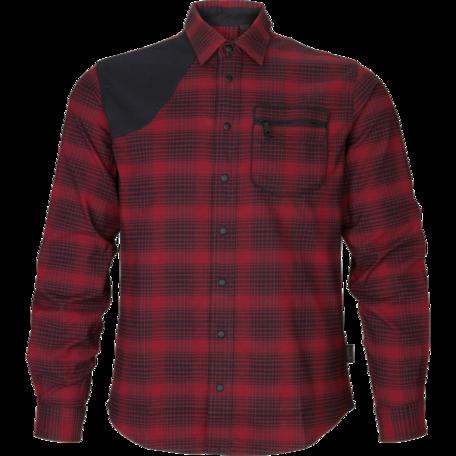 Seeland Terrain overhemd Red check