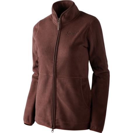 Seeland Bolton lady Fleece vest Bitter chocolate
