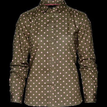 Seeland Erin dames overhemd Green tile