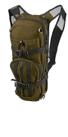 Harkila Rugzak Alta rucksack in melton wool hunting green 12L