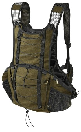 Harkila rugzak blaiken hunting pack in Melton wool hunting green L/XL