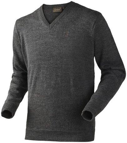 Seeland trui Essex jersey flint grey melange