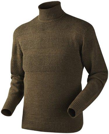 Seeland trui Norman jersey faun brown melange
