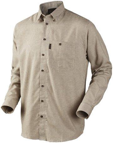 Seeland overhemd Burton shirt egret check