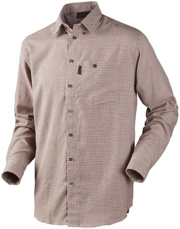 Seeland overhemd Burton shirt rust check