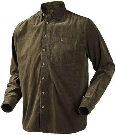 Seeland overhemd  Morcott shirt shaded olive