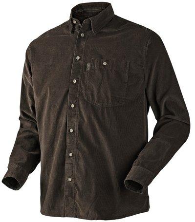 Seeland overhemd Morcott shirt faun brown