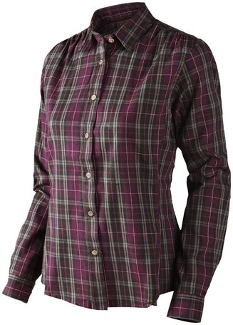 Seeland dames overhemd Pilton Lady shirt Raisin check