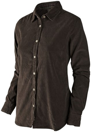 Seeland dames overhemd Morcott Lady shirt Faun brown
