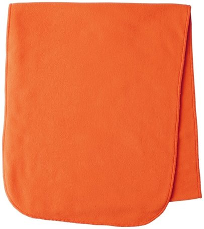 Seeland fluorescent fleece sjaal Conley fleece scarf Flourescent orange