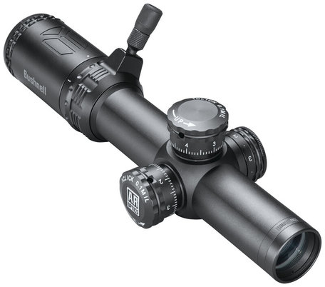 1-4x24mm AR Optics Riflescope Illuminated BTR1 Black 30mm, .223