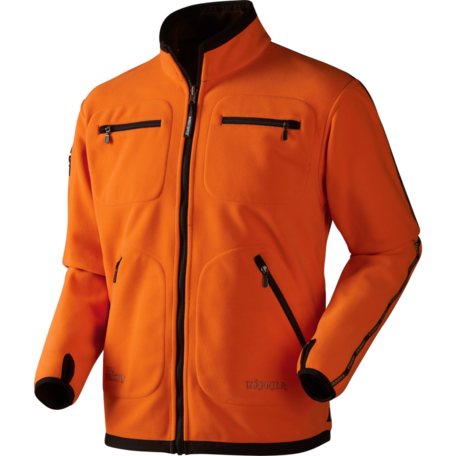Kamko fleece Jacket Hunting green/Orange blaze