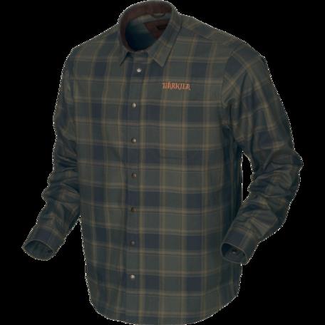 Metso Active shirt Willow green check