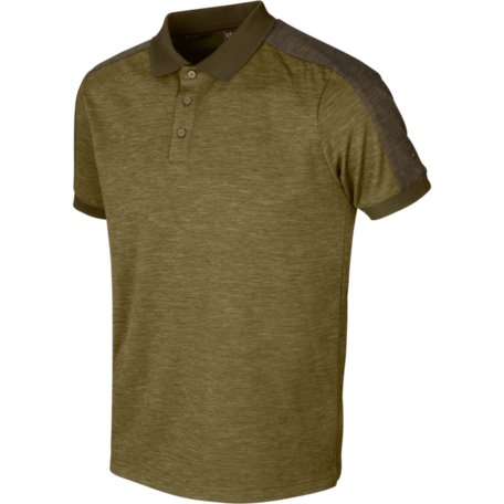 Tech polo Dark Olive Willow Green