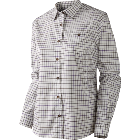 Lancaster Lady L/S shirt Blackberry Check