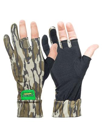 Stretch vingerloze handschoenen MO Bottomland , Card