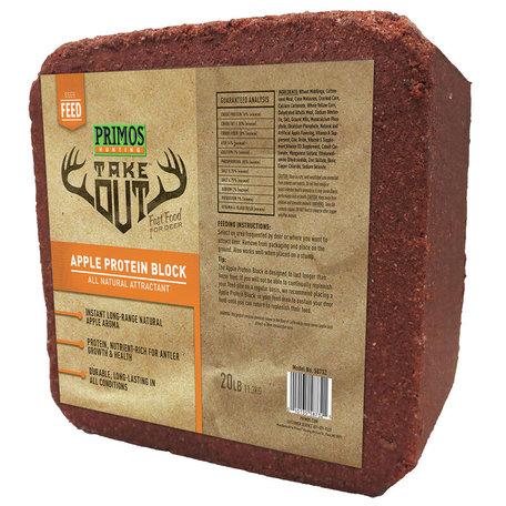 Take Out Block Apple Protein Brown 20 lb Block