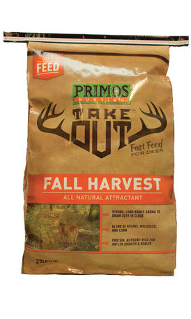 Take Out Fall Harvest 25 lb Brown, Poly Bag