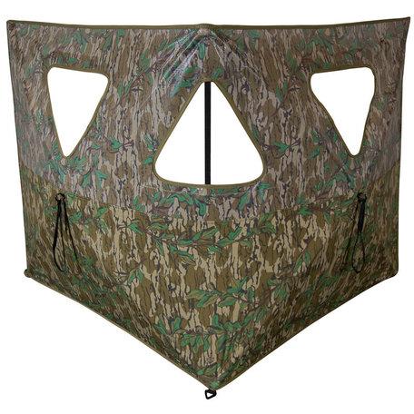 Double Bull Stakeout Blind - Mossy Oak Greenleaf , Box