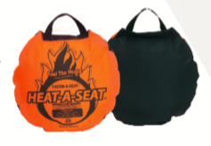 Heat-A-Seat Blaze Denier/Zwart Nylon