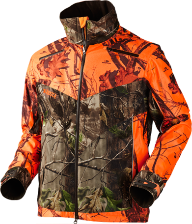 Harkila jas Viper short jacket mossy oak NBU/ mossy oak Orange blaze