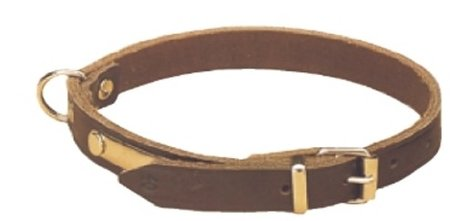 Halsband 30cm donker