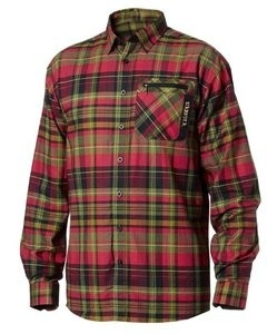 Härkila Newton overhemd / shirt Fiery red check