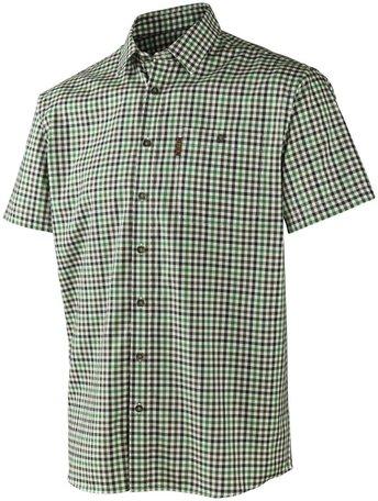 Härkila Milford overhemd korte mouw / short sleeve Green check