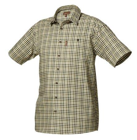 Härkila Milford overhemd korte mouw / short sleeve Olive check