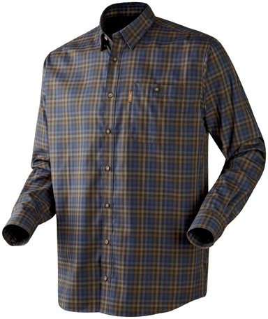 Härkila Milford overhemd / shirt Brown-blue check