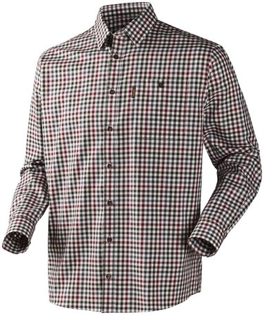 Härkila Milford overhemd / shirt Beetroot check
