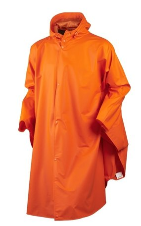 Seeland Rainy Poncho - Flourescent Orange