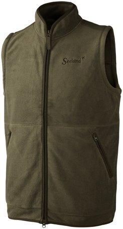 Seeland Bolton Fleece Waistcoat | Pine Green