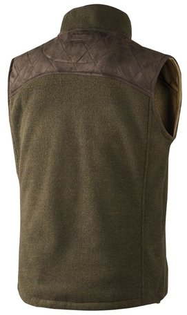 Seeland William Fleece Waistcoat | Green