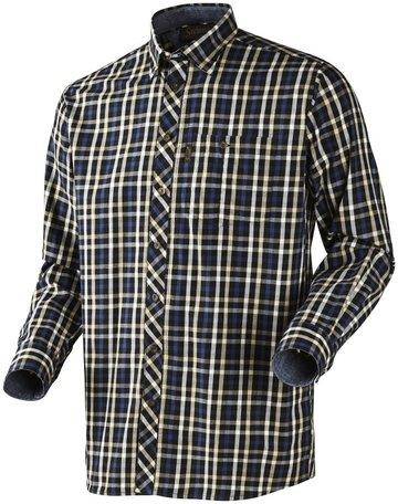 Seeland Hanley Shirt | Lange mouwen | Blue/ Dark Blue check