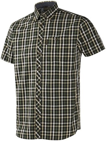 Seeland Hanley Shirt   Korte mouwen   Green/ Dark Blue check