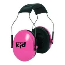 Peltor kid - neon rosa