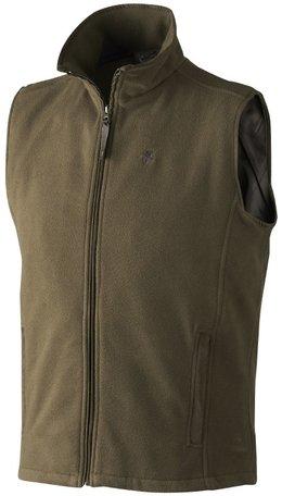 Seeland Chassé Fleece waistcoat | Pine Green