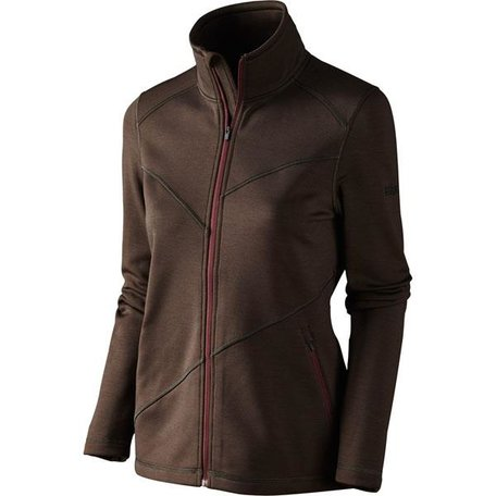 Härkila Disa dames fleece vest / Demitasse brown melange