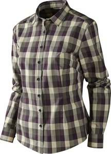 Härkila Lara Lady overhemd / Plum perfect check