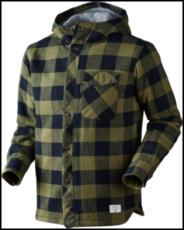 Seeland Canada Jacket / Winter Moss check