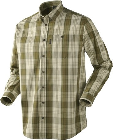 Seeland Chester overhemd / Asparagus green check