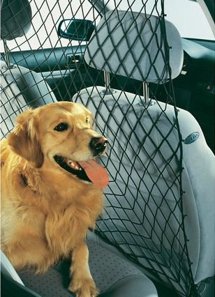Universeel hondenafschermnet voor in de auto