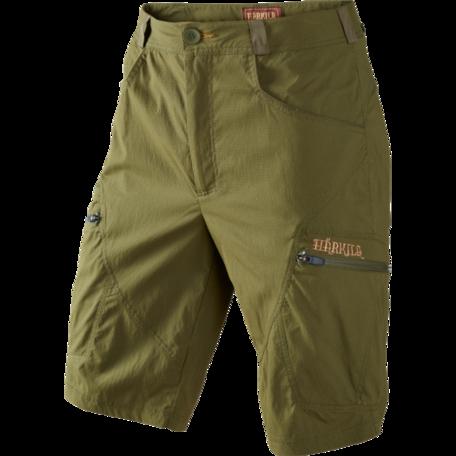 Harkila Herlet Tech korte jachtbroek / Rifle green