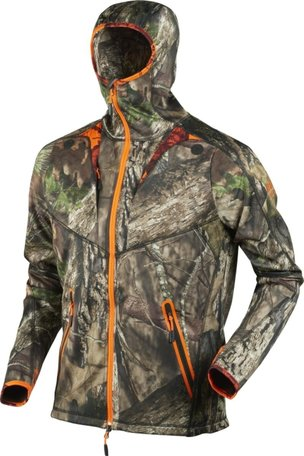 Härkila Moose Hunter camo fleece vest / MossyOak Break-up Country
