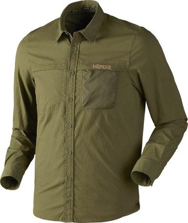 Härkila Herlet tech overhemd / Rifle green